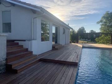 Construction de piscine près de Bordeaux